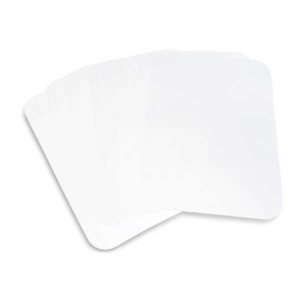 "Tray Covers - Size B - Ritter - White - 8 1/2"" x 12 1/4"" - 1000/Case - Aurelia - #TC5125"