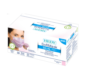 Hedy SoftMask Dual Fit Standard Level 1 Masks