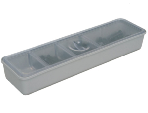Zirc Long Tub Cup With Cover