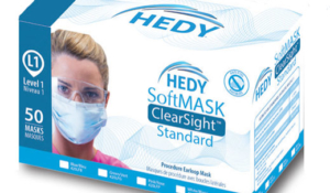 Hedy SoftMask ClearSight Standard Level 1 Masks
