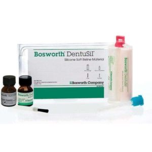 Bosworth DentuSil Silicone Soft Reline Material