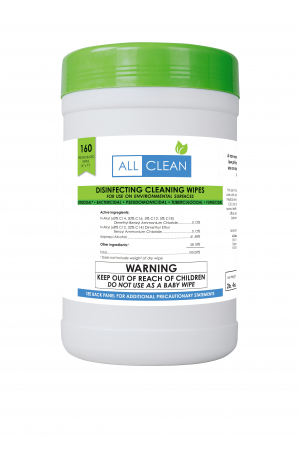ALL CLEAN NATURAL DISINFECTING CLEANING WIPES